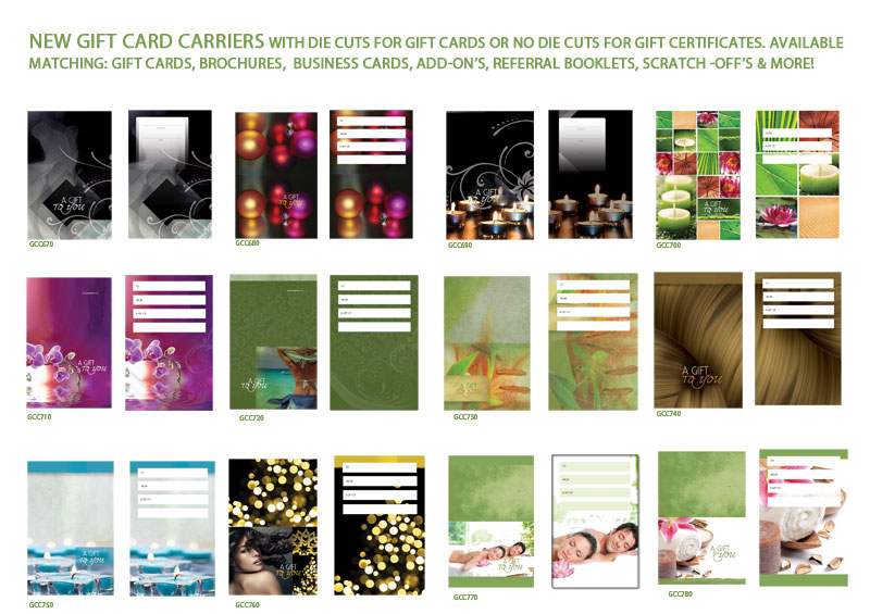 Gift Card Carriers