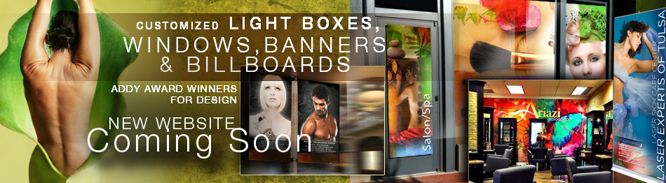 Windows, Banners, Billboards